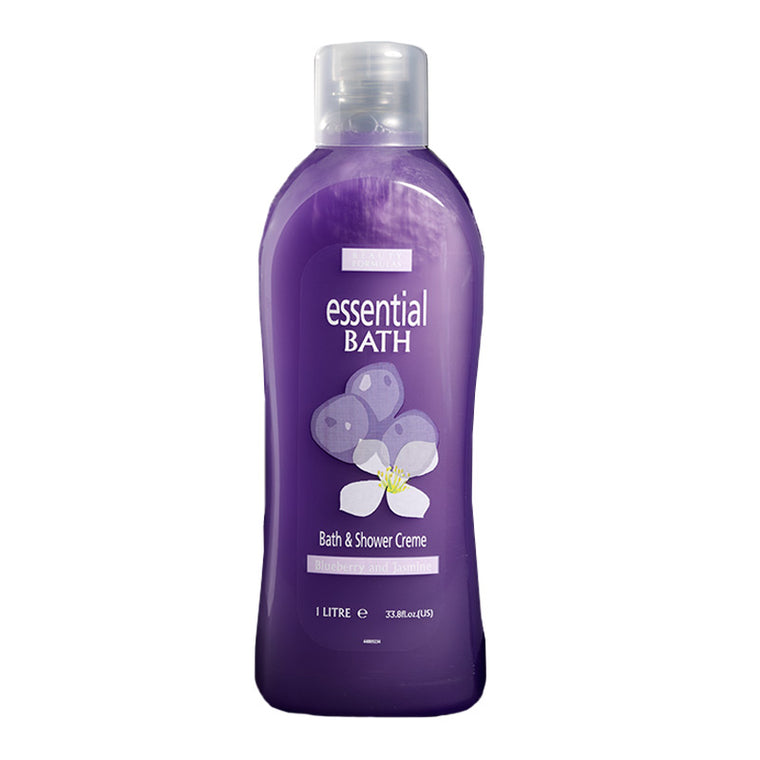 BEAUTY FORMULAS Blueberry & Jasmine Essential Bath 1L