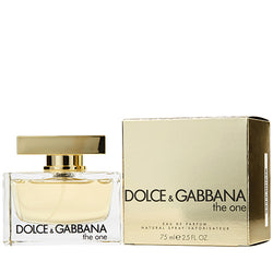 DOLCE & GABBANA THE ONE WOMEN EAU DE PARFUM SPRAY 75ML