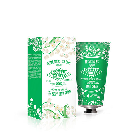 INSTITUT KARITE PARIS Shea Hand Cream Lily of the Valley - 75ml