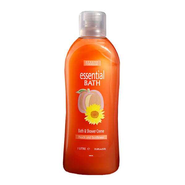 BEAUTY FORMULAS Peach & Sunflower Essential Bath 1L
