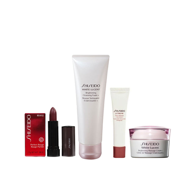 SHISEIDO Travel Set B - 4pcs