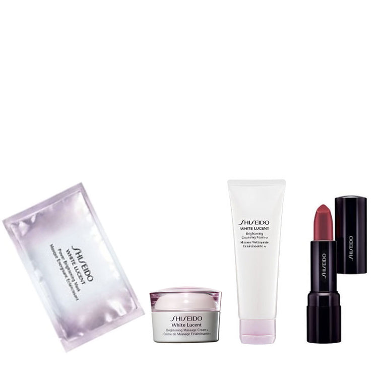SHISEIDO Travel Set A - 4pcs