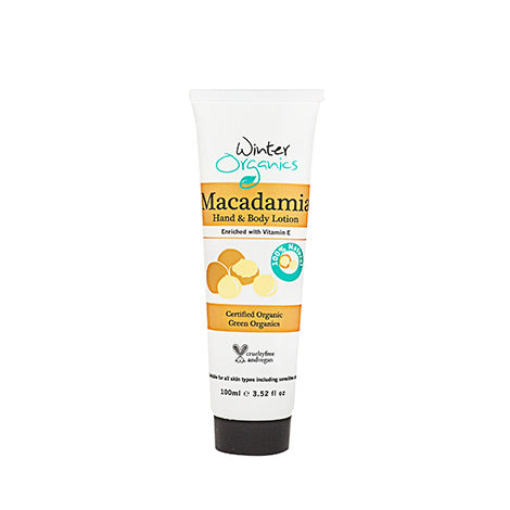 WINTER ORGANICS Macadamia Hand and Body Lotion 100ml