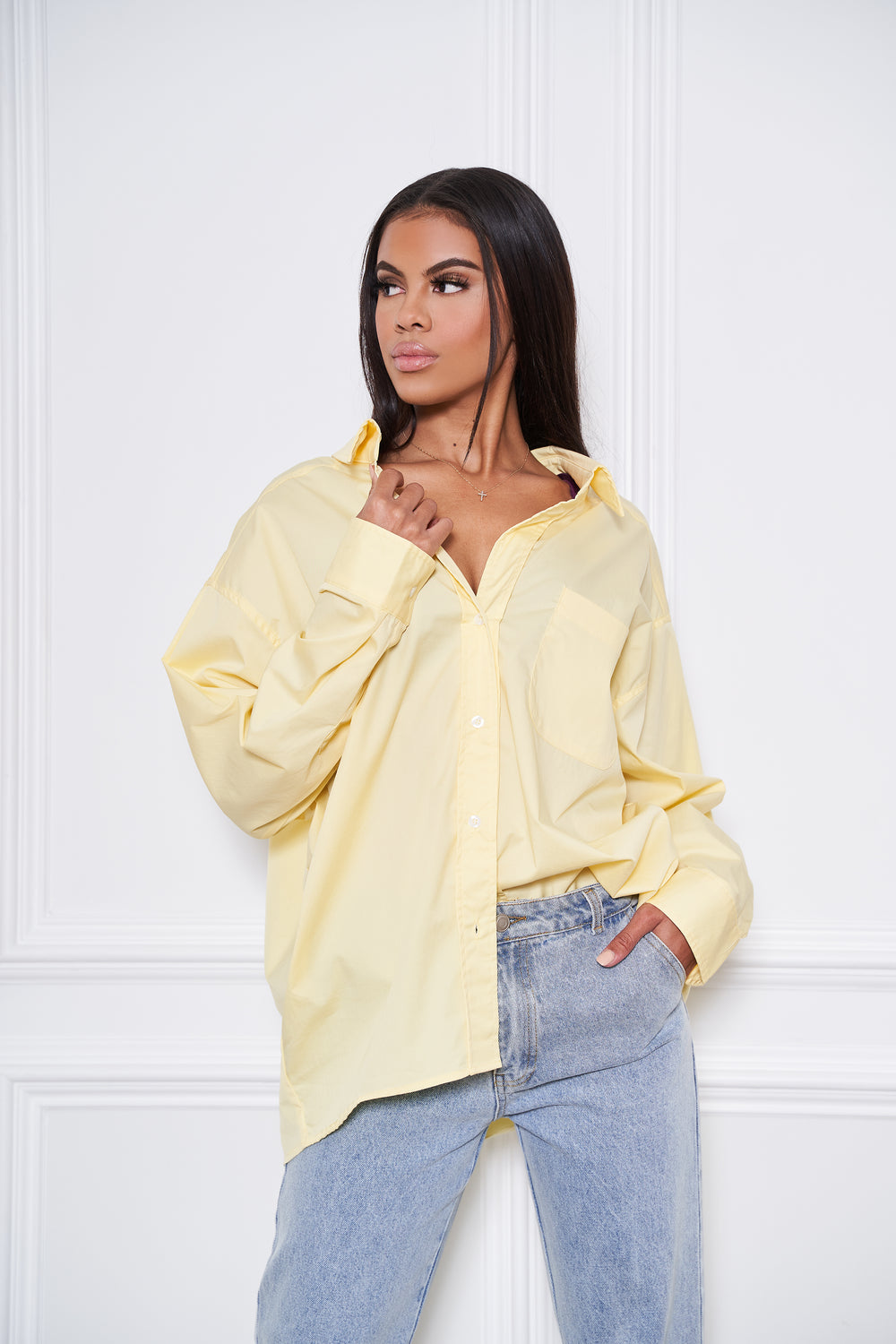 The Mrs | Button Down Blouse