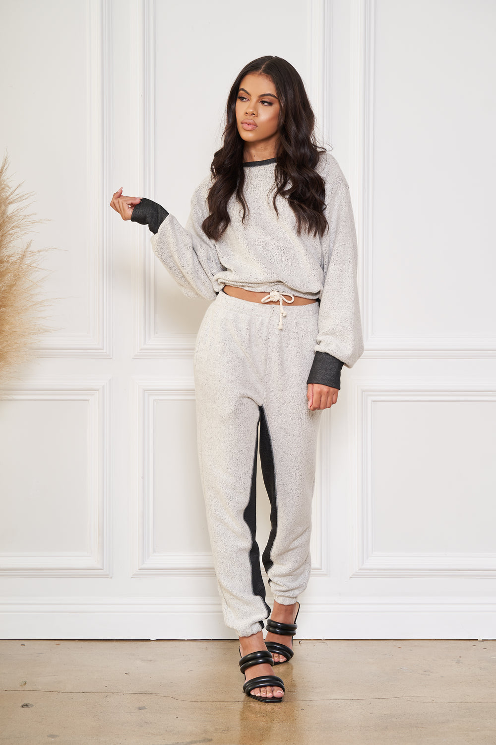 Inside Out | Mocked Neck Jogger Set
