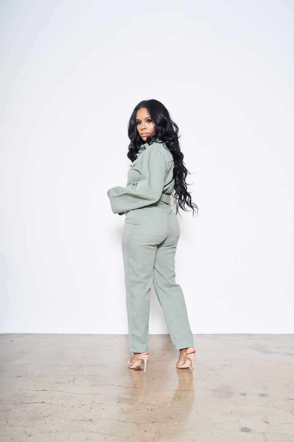 Ready, Set, Go | Belted Jumpsuit