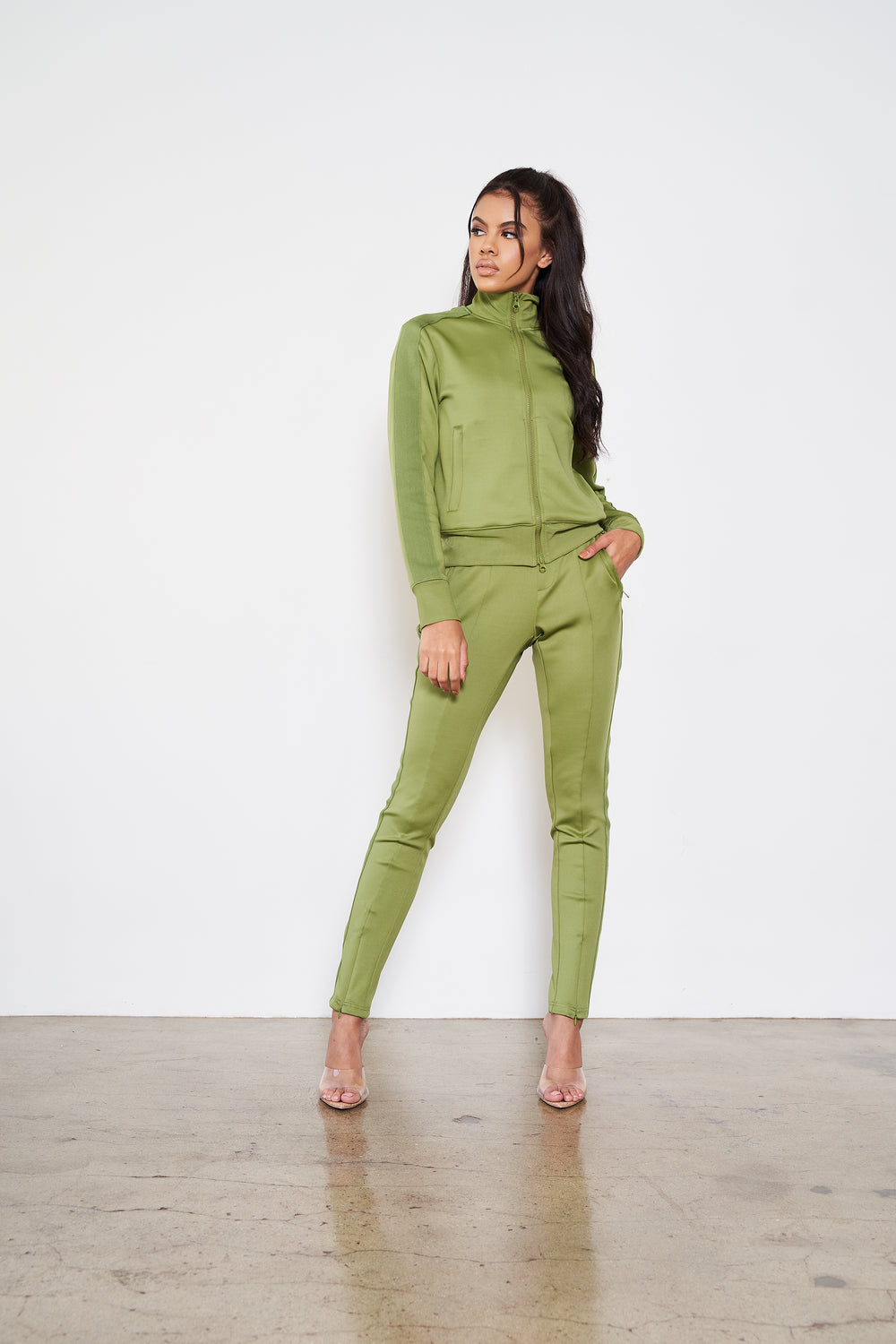 Any Weather | Jogger Set (Green)