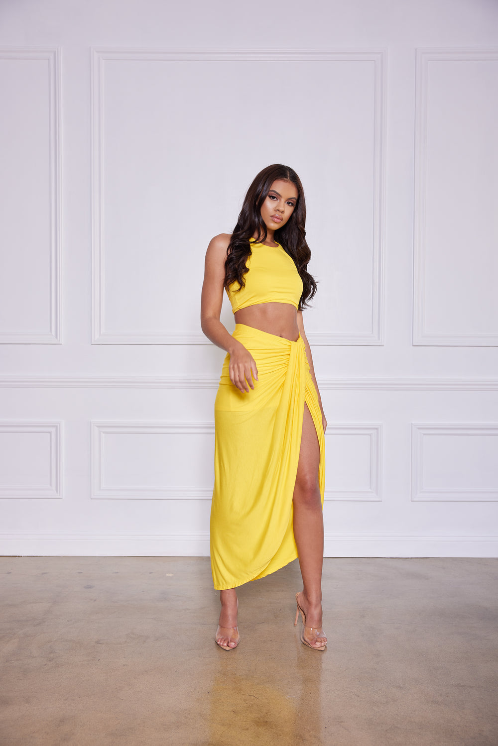 Get Into It | 2 Piece Set (Yellow)