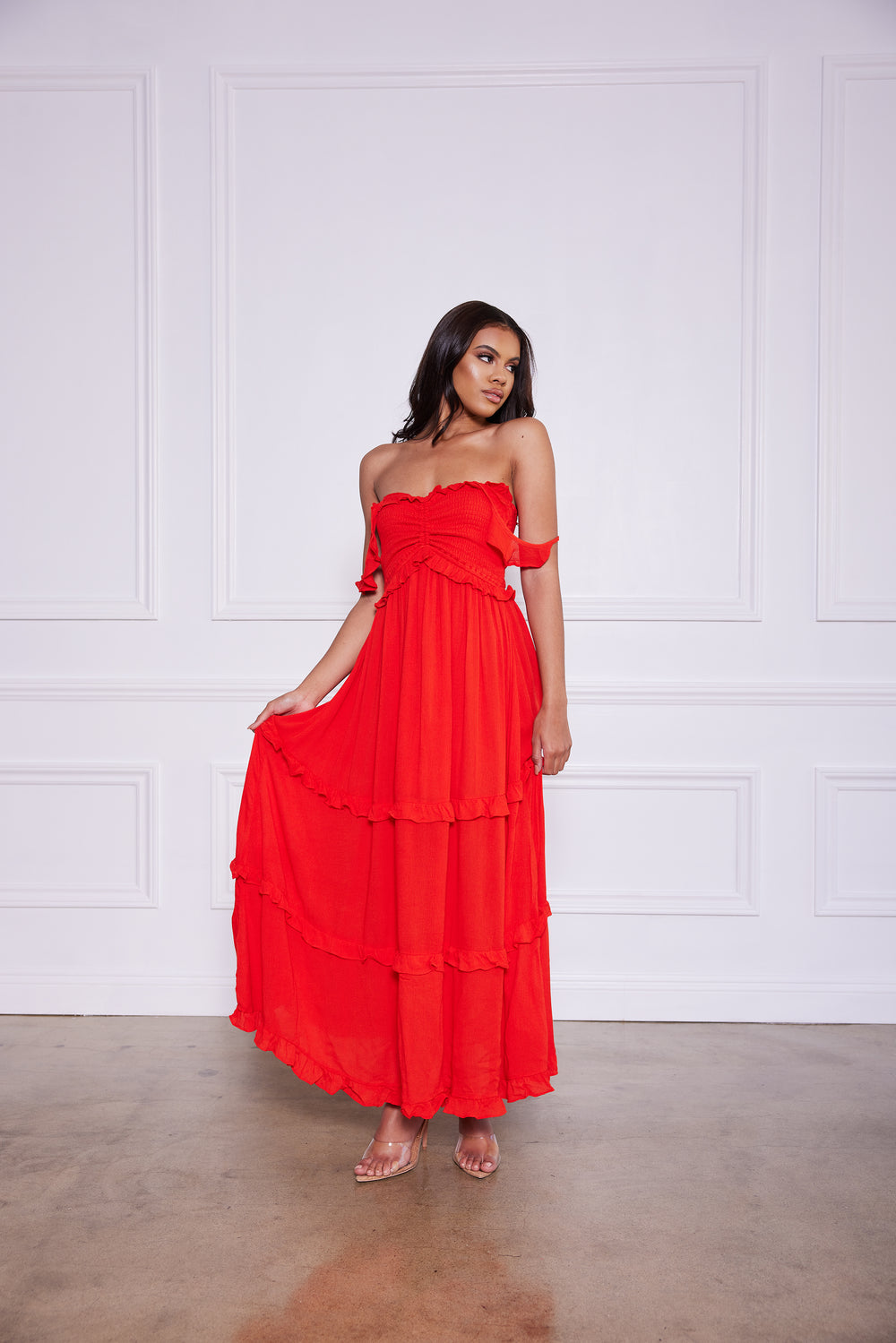 Tier's to Us | Maxi Dress