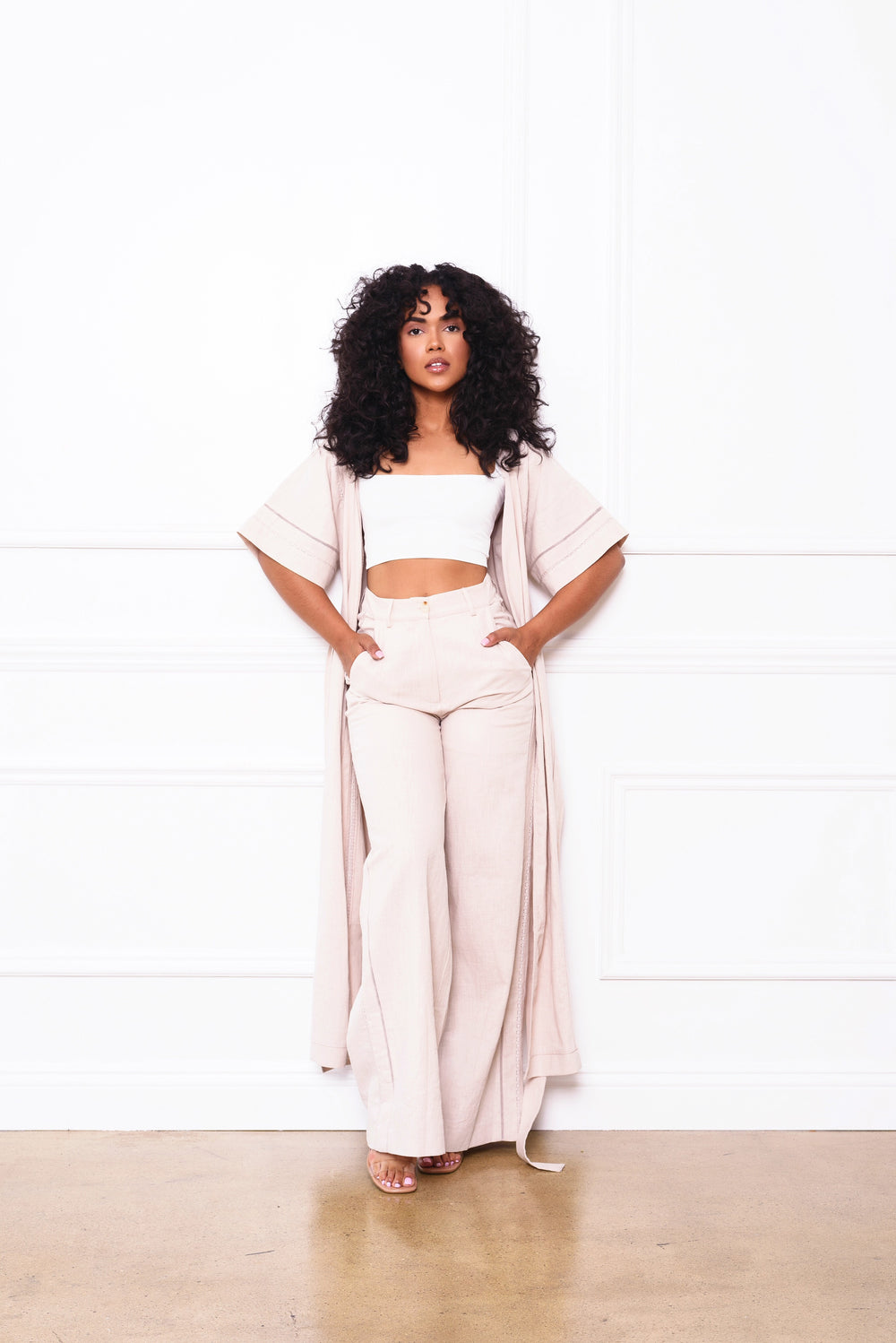 Linen Bae | Two Piece Set