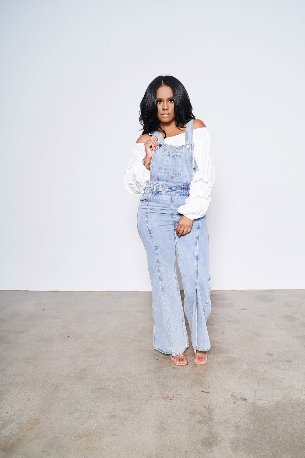 The Whole Package | Wide Leg Overalls
