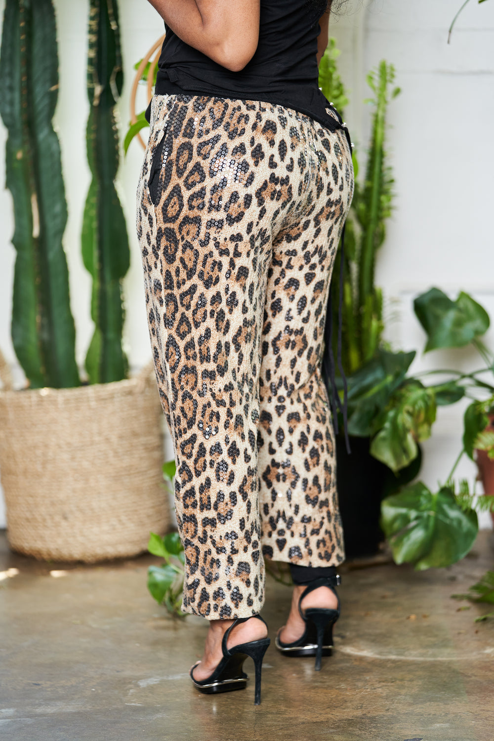 Safari Glam | Sequence Joggers