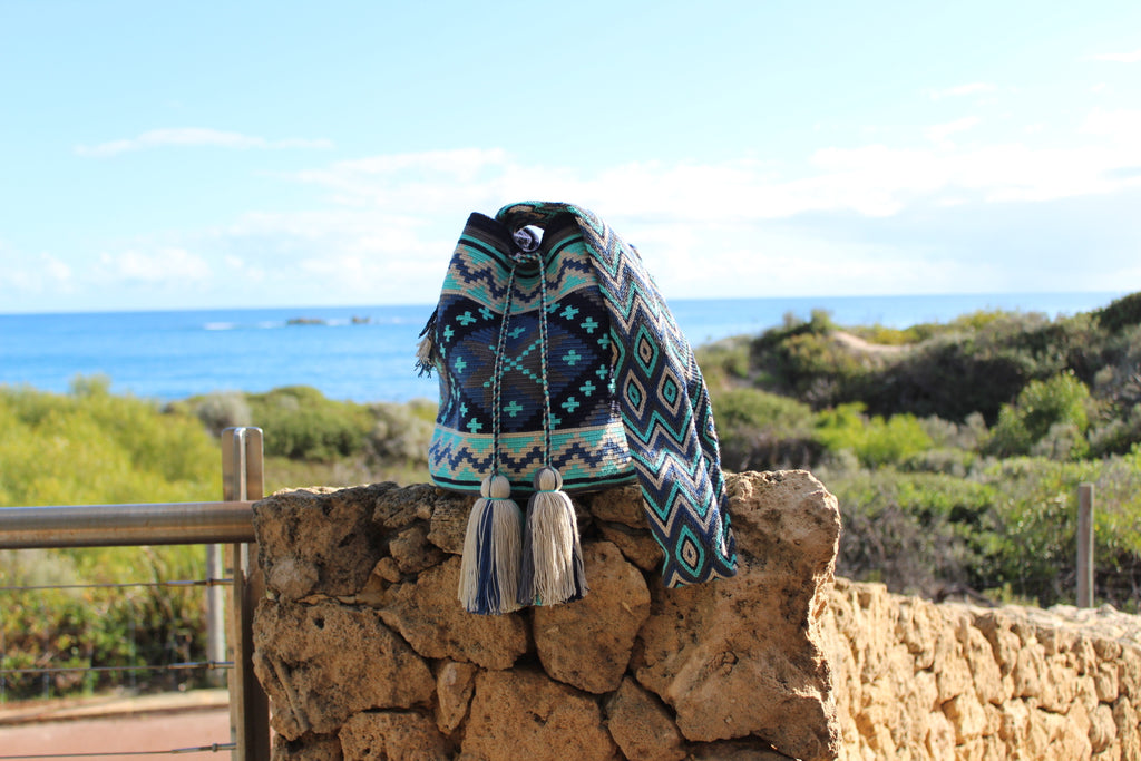 Wayuu Mochila Bag | Pattern Design | Santa Cruz
