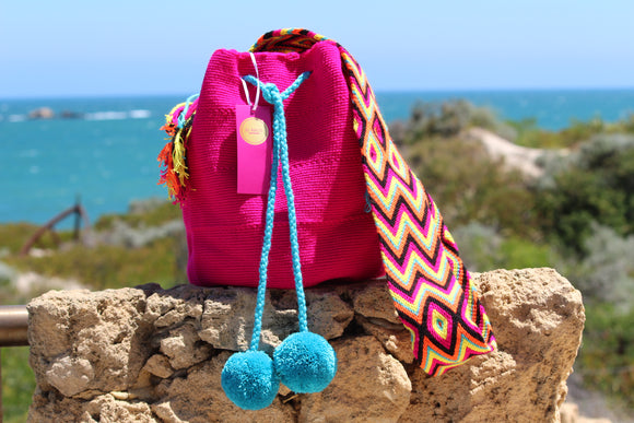 Wayuu Mochila Bag | Plain Design | Cucuta |