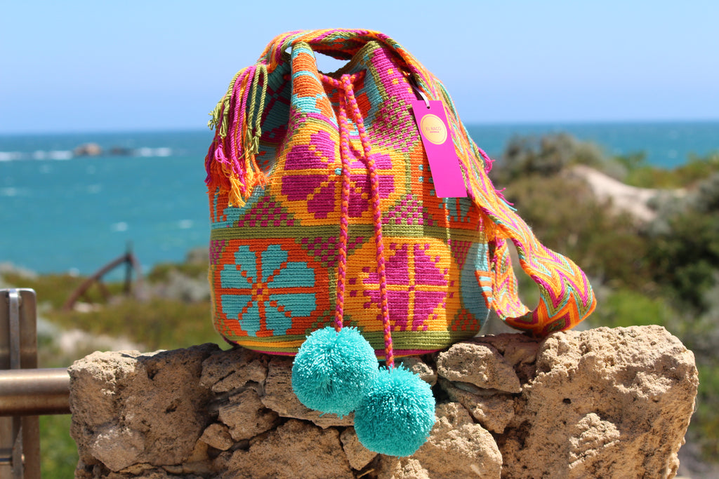 Wayuu Mochila Bag | Pattern Design | Tulua |
