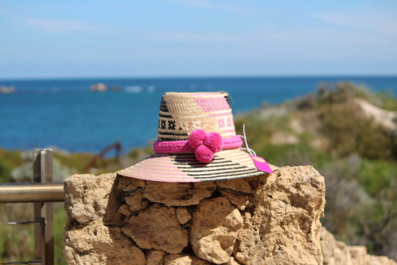 Wayuu Hats | Pom Poms | Accessories |
