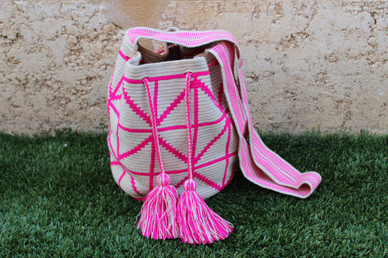 Wayuu Mochila Bag | Pattern Design | Marley |