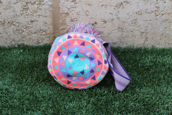 Wayuu Mochila Bag | Pattern Design  | Cielo