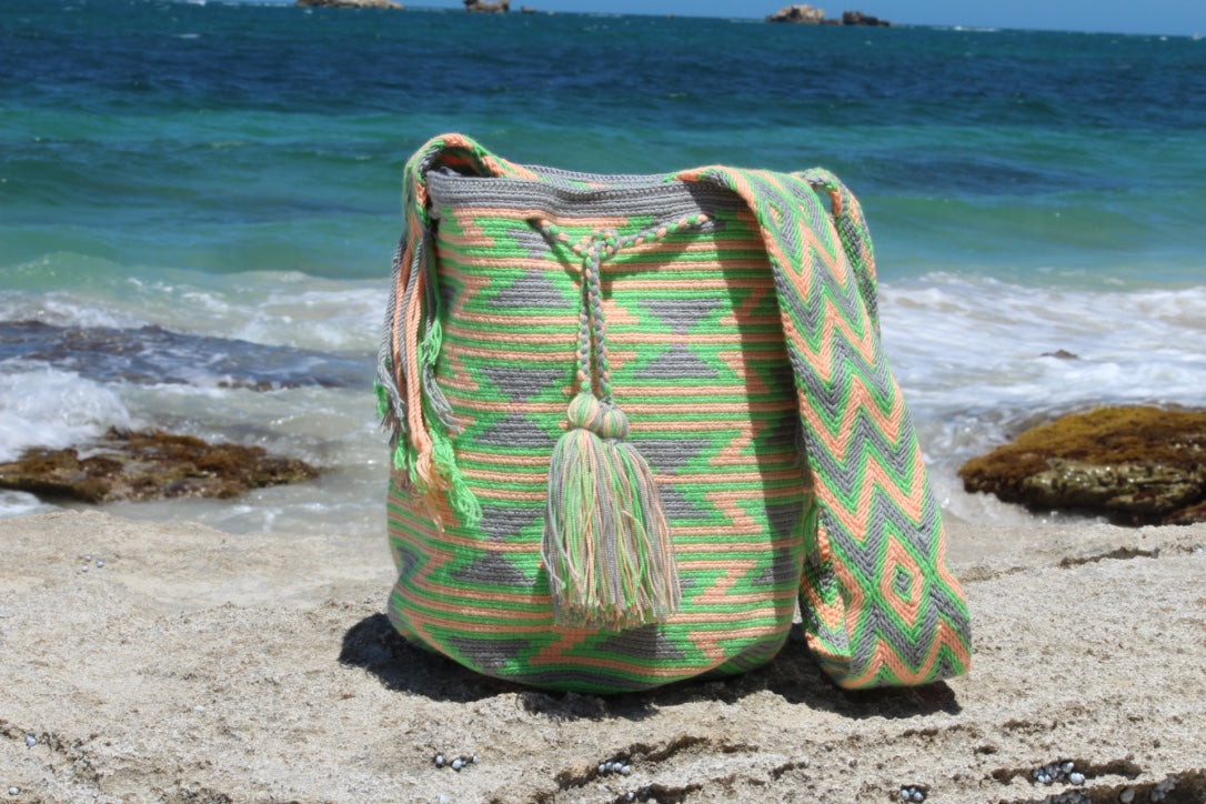 Wayuu Mochila Bag | Pattern Design | El Cartagena I