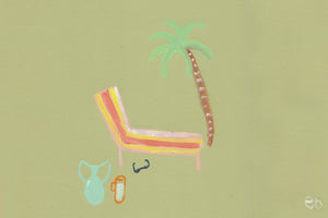 Paintings of La Playa, by Elle-louise Burguez