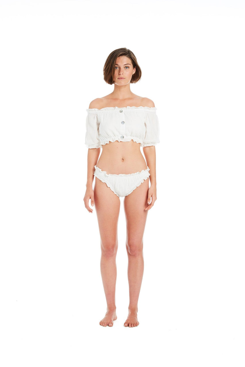Kali Off-The-Shoulder Sunsuit Top