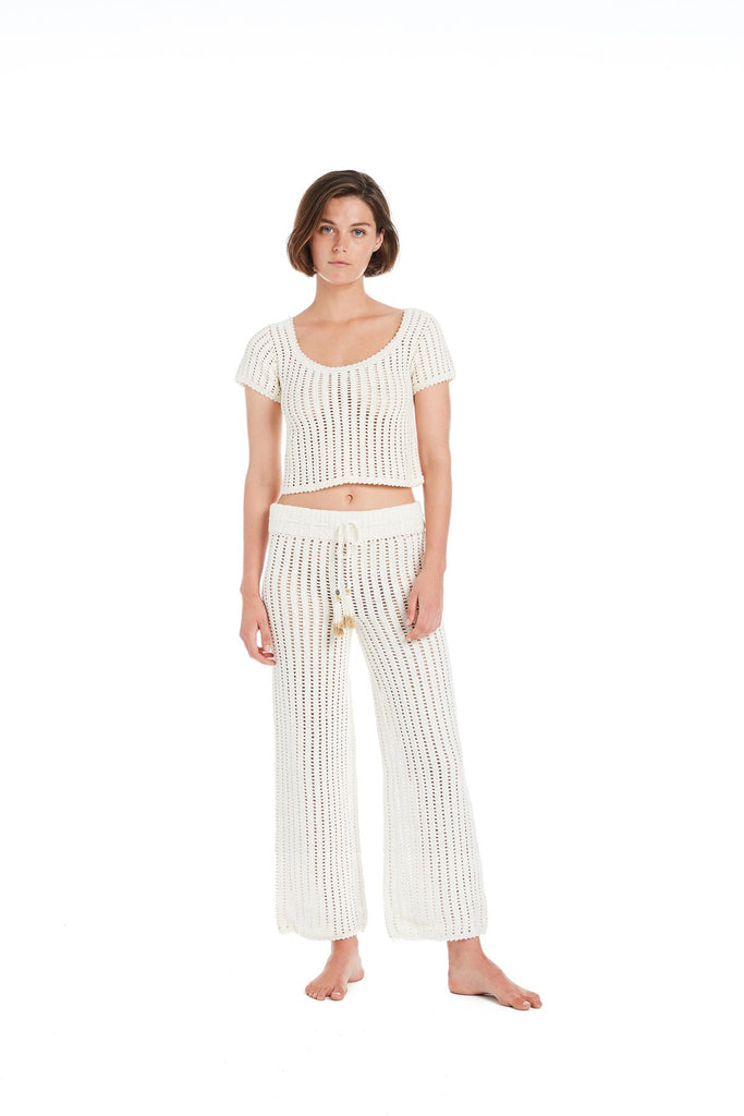 Sita Cotton Crochet Pant