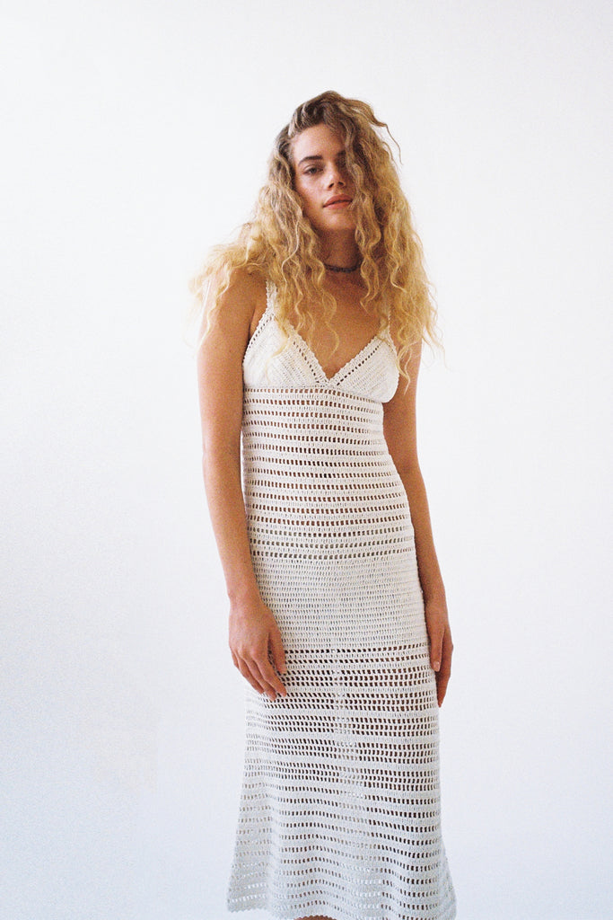 INDRA MIDI DRESS