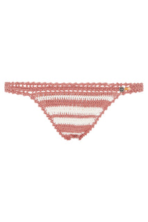 Daisy Cotton Crochet Mini Bikini Bottom