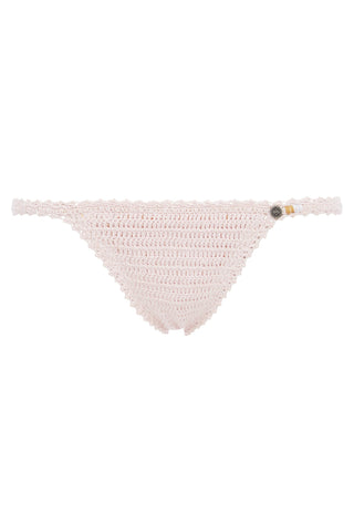 Lalita Cotton Crochet Mini Bikini Bottom