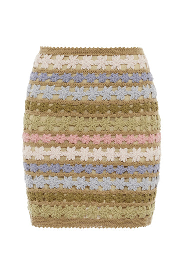 Maala Crochet Skirt