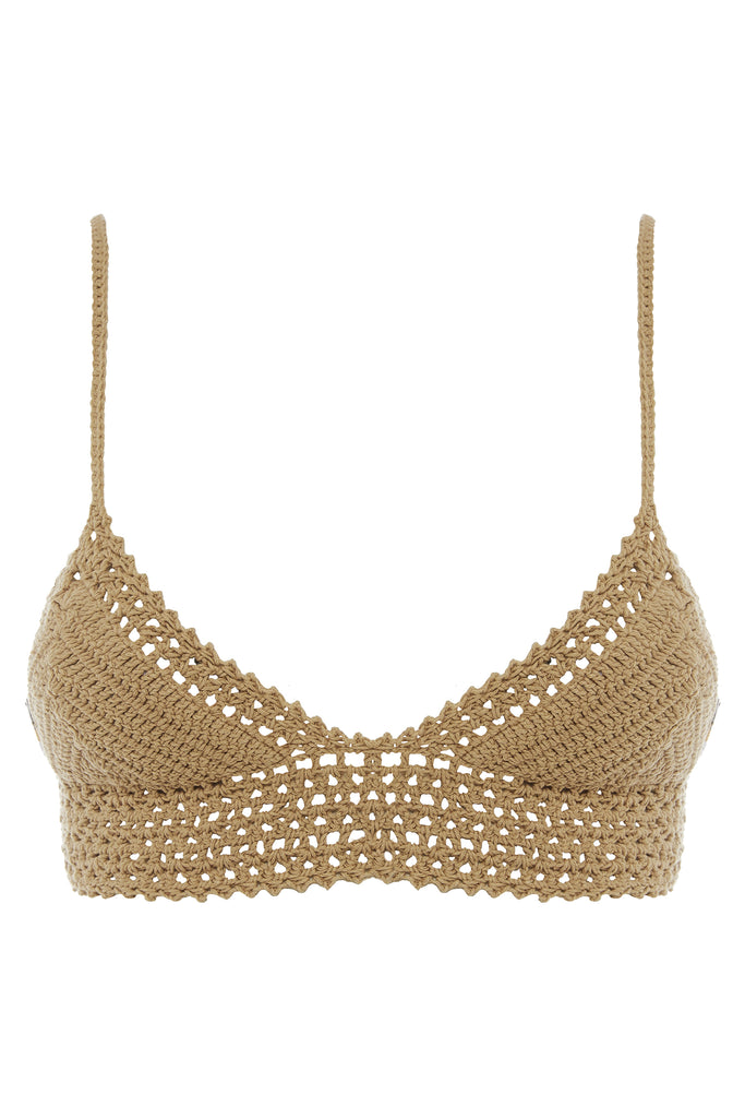 Essential Crochet Baby Doll Bikini Top