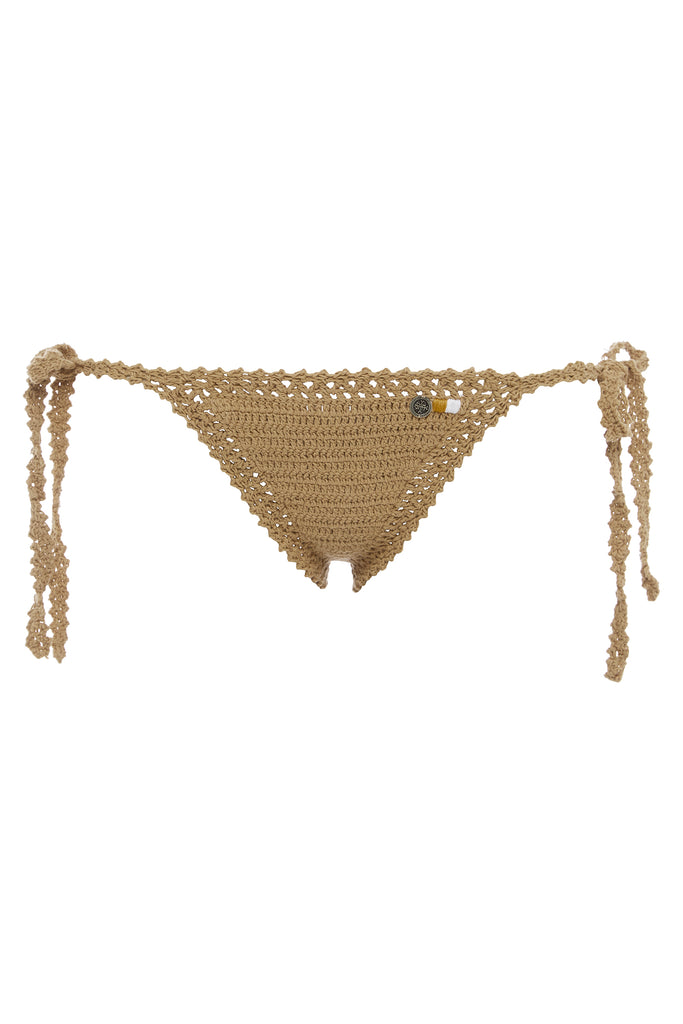 Essential Crochet Tie-Side Bikini Bottom