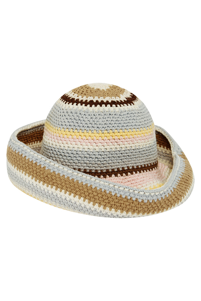 ETTA STRIPE SUN HAT