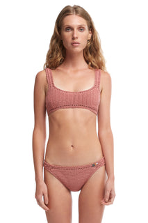 ESSENTIAL CROCHET CROP BIKINI TOP