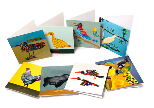 Crazy Birds Card Series
