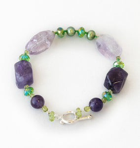 P&GB (Purple and Green Bracelet)