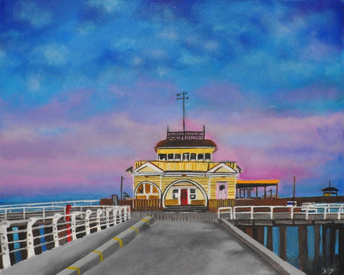 St. Kilda Pier at Sunset