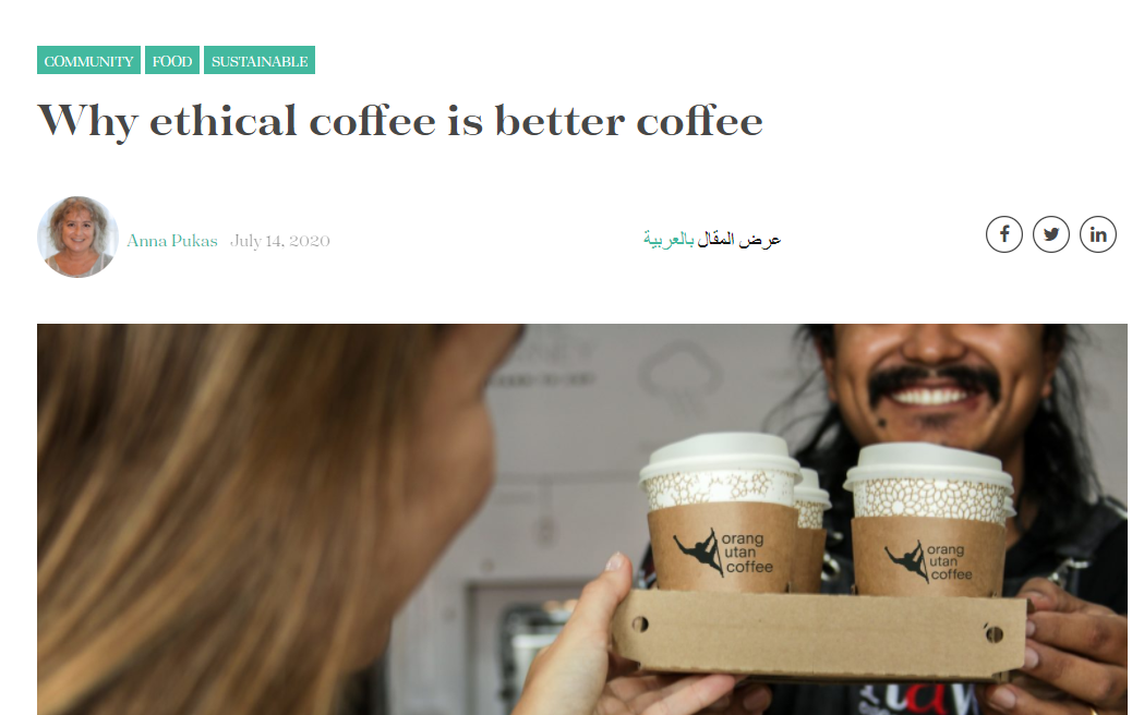 Live Healthy - Why ethical coffee is better coffee