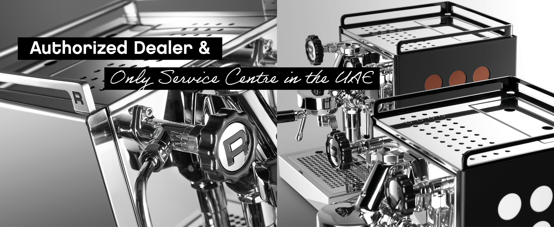RAW Coffee company, an authorised dealer & the only service centre in the UAE