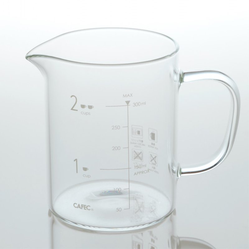 Cafec Beaker Server Clear 300ml