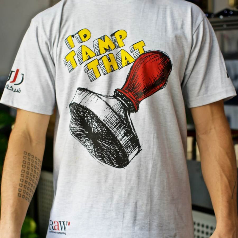 RAW 'Tamp That' T-shirt