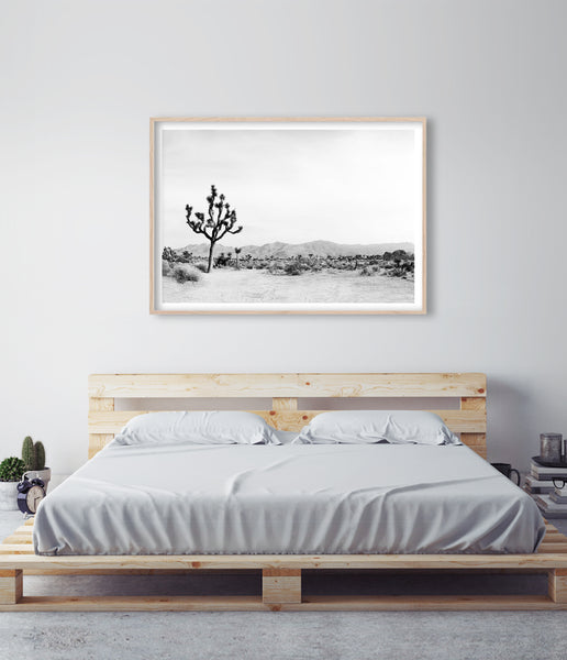 art above bed bedroom art bedroom artwork joshua tree art print