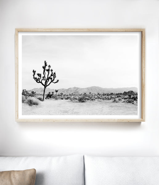 black and white desert print bohemian wall art boho prints