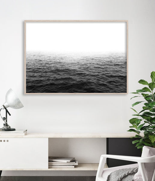 black and white ocean prints australia