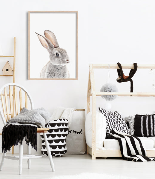 bunny art bunny nursery prints