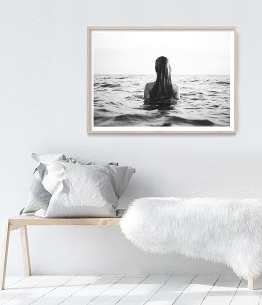 coastal art print ocean wall art