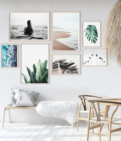 Tropical Decor Coastal Wall Art Beach Decor