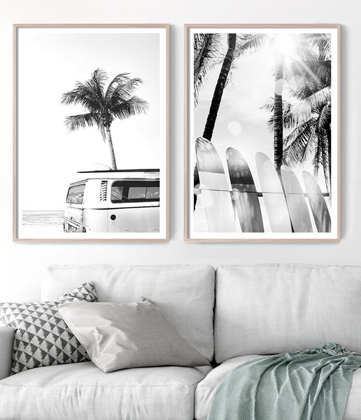 coastal wall art surf prints