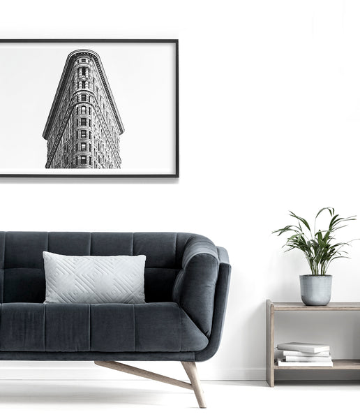 flatiron building wall art print new york wall art