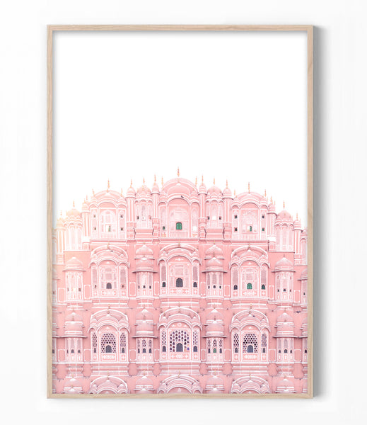 hawa mahal art print australia place of winds photography